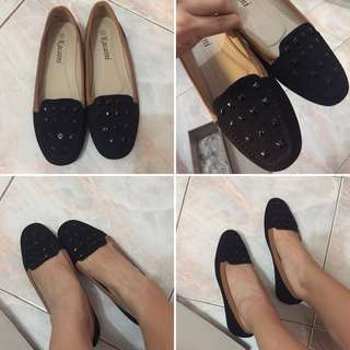 Black Doll Shoes
