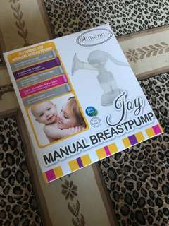 Autumnz manual breast pump