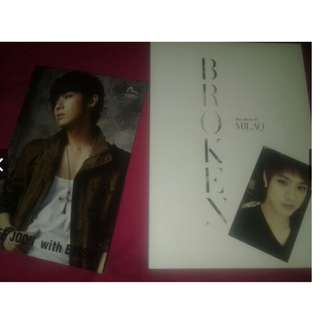 "ON HAND OFFICIAL Signed Album: MBLAQ "" BROKEN "" 6th Mini Album VI"