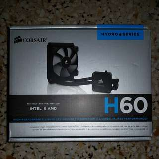 H60 aio water cooler