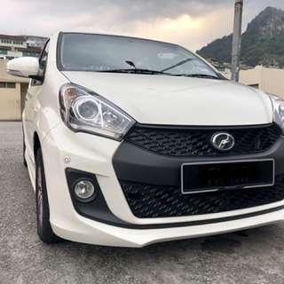 Perodua Myvi rental kereta sewa