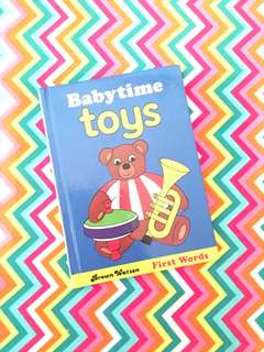 Charity Sale! Babytime toys Children's Book