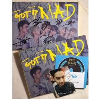 "[SIGNED ALBUM] GOT7 ""MAD"""