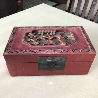 古董小箱子