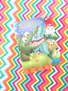 Charity Sale! Reptiles Learning Tab Children's Book