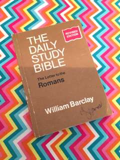 Charity Sale! The Daily Study Bible by William Barclay