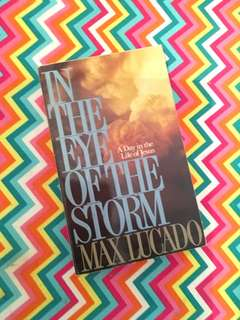 Charity Sale! In The Eye of the Storm by Max Lucado