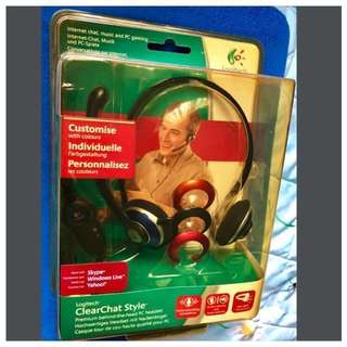 *Unused In Box* - LOGITECH ClearChat Style Premium PC Headset