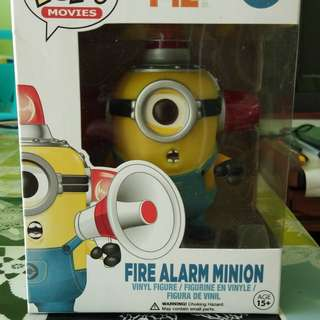 Funko POP! Fire Alarm Minion