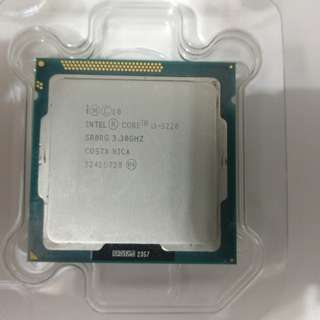 Intel i3-3220 Bare CPU with Heat Sink