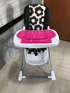 Even flo compact fold baby high chair