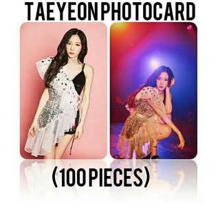 523 TAEYEON PHOTO CARD