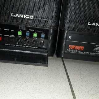 Speaker with build in amplifier