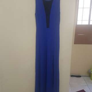 Forever 21 Long Dress with Slit