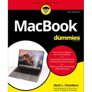 Ebook MacBook For Dummies®, 7th Edition