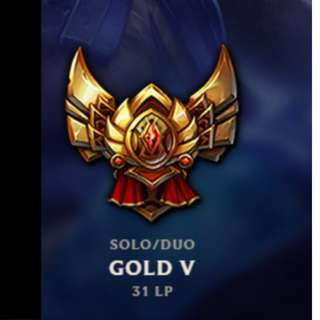 League of Legends Gold 5 Account
