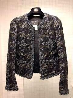 Chanel Tweed Jacket Size 34