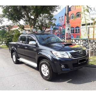 2012 TOYOTA HILUX 3.0L DIESEL G 4x4 AUTO - EXCELLENT CONDITION