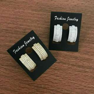 Anting Silver n Gold