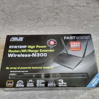 ASUS RT-N12HP High Power Wireless-N300 3-in-1 Router/AP/Range Extender