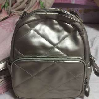 Repriced AGAIN SILVER BACKPACK