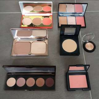 Assorted Eyeshadow and Cheek Palettes