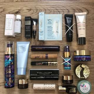 BN Assortment of Travel Size Deluxe Mini / Sample