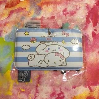 Hello Kitty x Cinnamoroll 條紋行李牌 (吉蒂 x 大耳狗)