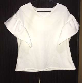 VF 132 white blouse 👚