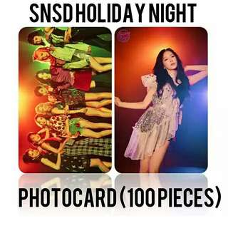 523 SNSD PHOTOCARD / LOMOCARD💫 (100 PIECES)