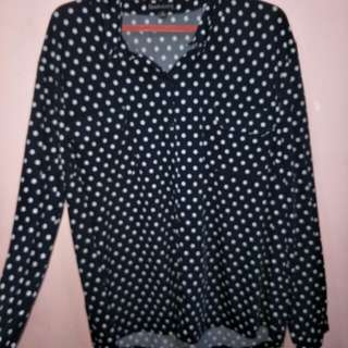 Pre loved Plus size longsleeve full button