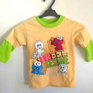 Sesame street long sleeved shirt