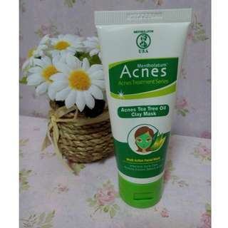 Acnes Tea Tree Oil Clay Mask / Tea Tree Oil / Acnes / clay mask / face mask / mask / masker wajah / masker kulit
