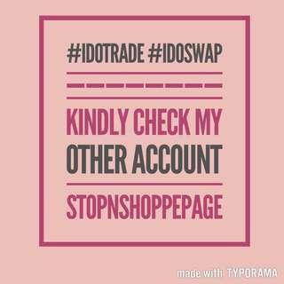 Trade/ Swap