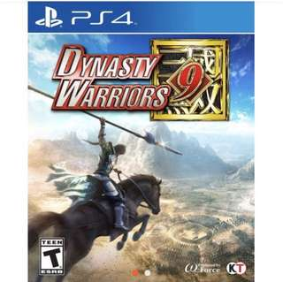 BNIB Dynasty Warriors 9 R3 PS4