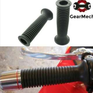 *New* Rubber Handlebar Grips for Motorbikes (Self Collection/ Postage)