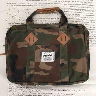 Herschel Camo Print Laptop Bag