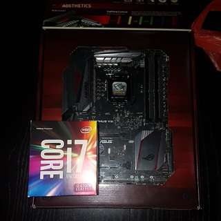 Rog Maximus Z170 Hero with i7 6700k bundle