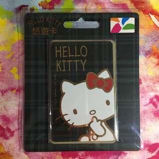 悠遊卡 - Hello Kitty 綠色格仔款