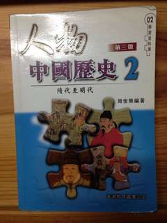 人物中國歷史2 隋代至明代