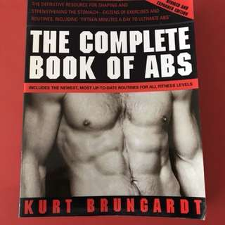 COMPLETE BOOK OF ABS - BODY BUILDING SPORTS FITNESS MUSCLES