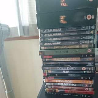 Bunch of DVDs
