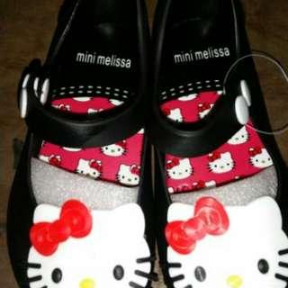 Mini melissa hello kitty shoes