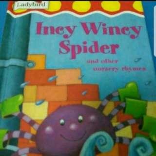 Incy Wincy Spider Children Book