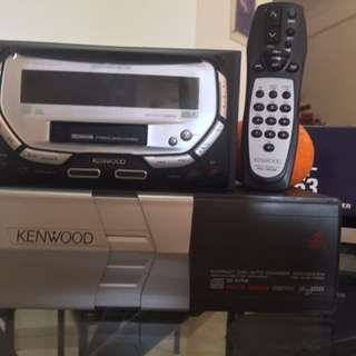 Kenwood car stereo radio/ CD changer system