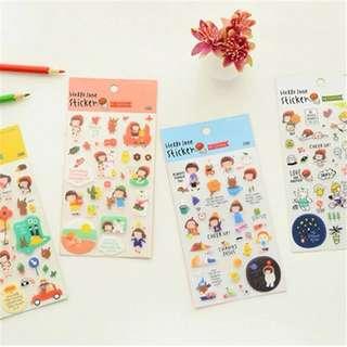 Cute Korean Planner Stickers