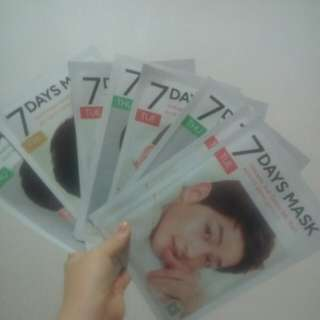 7 days mask song joong ki