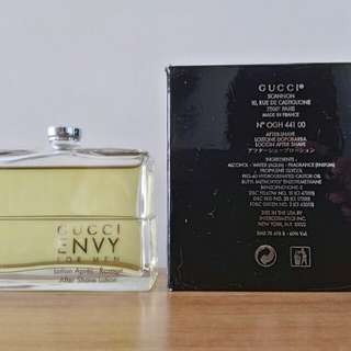 Gucci Envy For Men After Shave Lotion 100ml