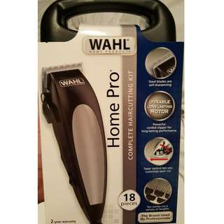 Wahl Home Pro Shaver Trimmer Hair Clipper Complete Kit FREE Lubricator