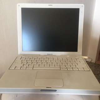 Spoilt apple ibook g4